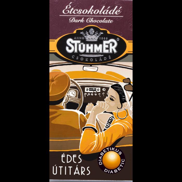 Stühmer Étcsokoládé Édesítőszerrel 100g