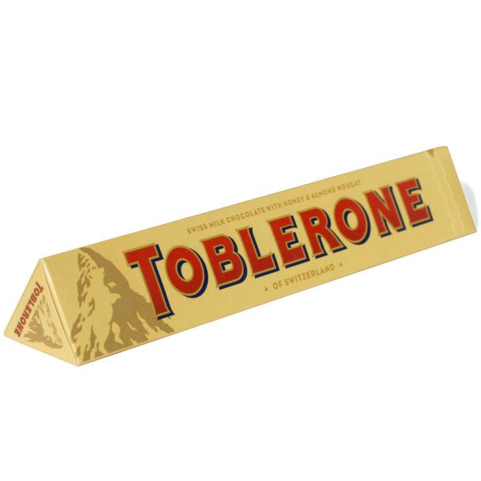 Toblerone Tejcsokoládé Mézzel és  Mandulanugáttal 100g