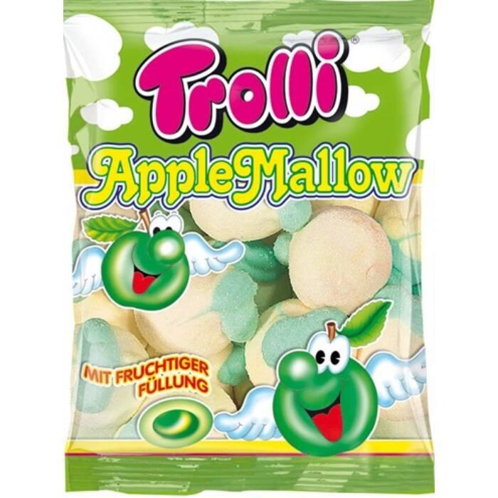 Trolli gyümölcsízzel töltött almahab 150g