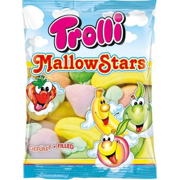 Trolli mallow star (vegyes) 150g