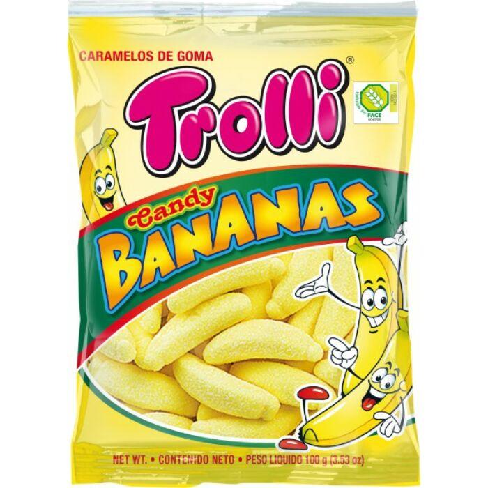 Trolli Banán Gluténmentes Gumicukor 100g