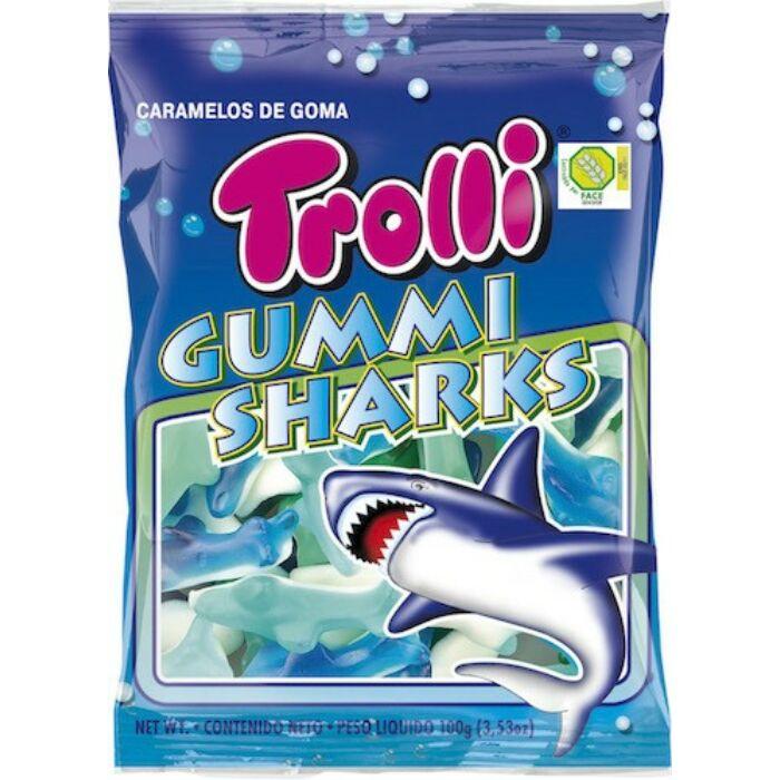 Trolli Cápa Gluténmentes Gumicukor 100g