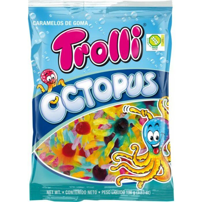 Trolli Octopus Gluténmentes Gumicukor 100g