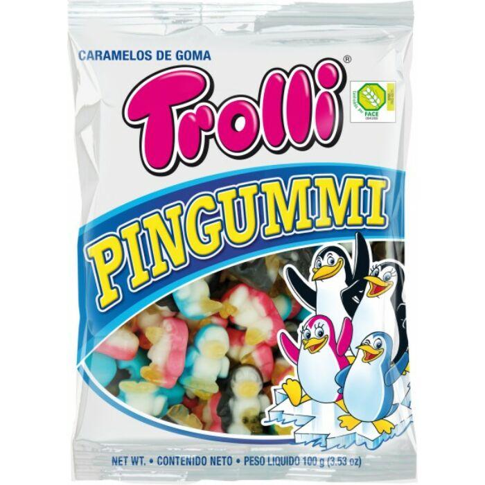 Trolli Pingvin Gluténmentes Gumicukor 100g