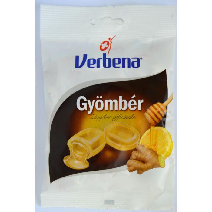 Verbena töltött cukorka  Gyömbér 60g