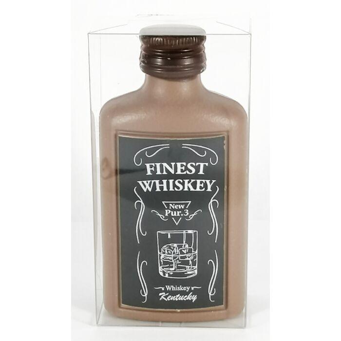 Finest Whiskey Dekorált Tejcsokoládé Laposüveg 50g