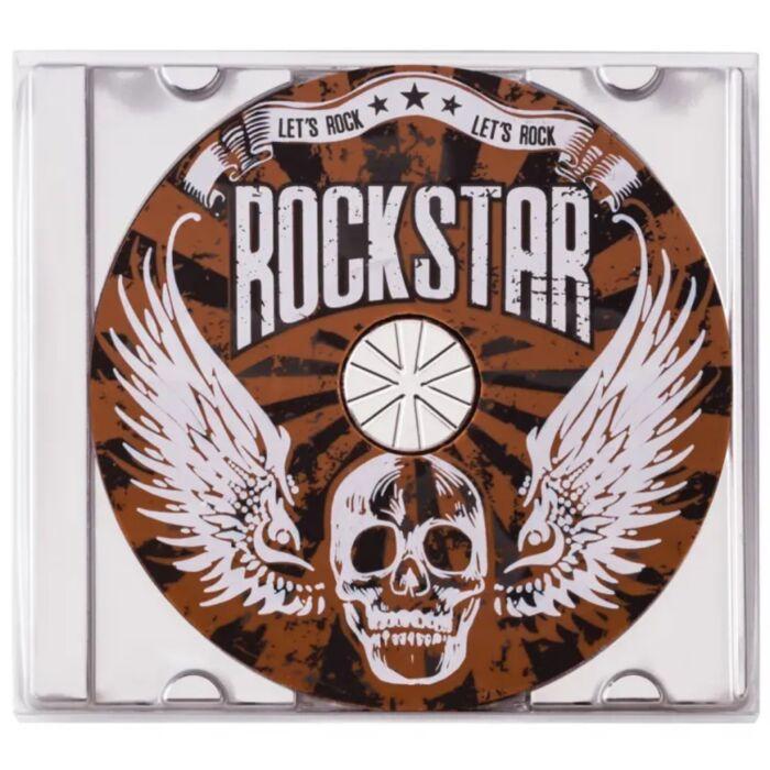 Tejcsokoládé Rockstar Cd 45g