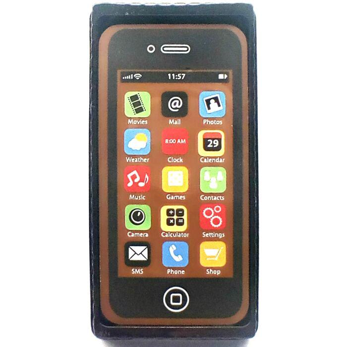 Tejcsoki Telefon Fekete Dekorált 40g