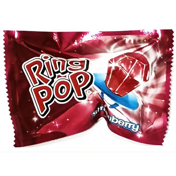 Ring Pop Cukor Gyűrű Eper Ízű 10g
