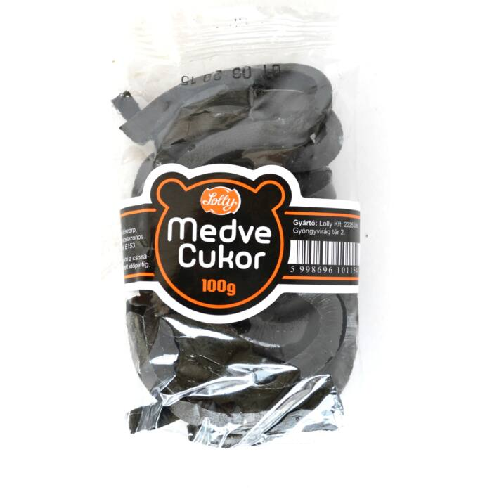 Lolly Medvecukor 100g