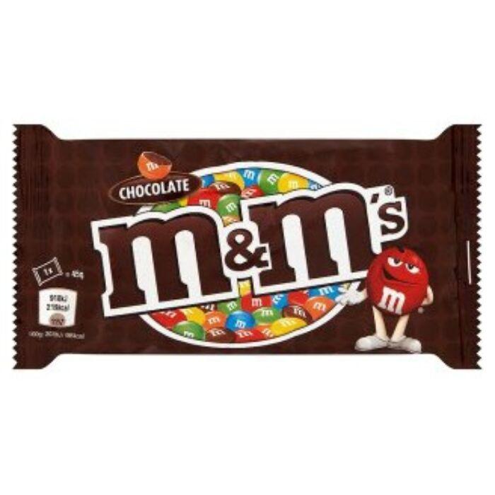 M&M's tejcsokoládés drazsé 45 g