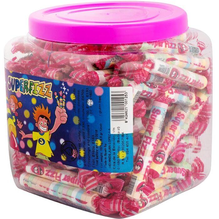 Superfizz cukorka dobozban 1100g