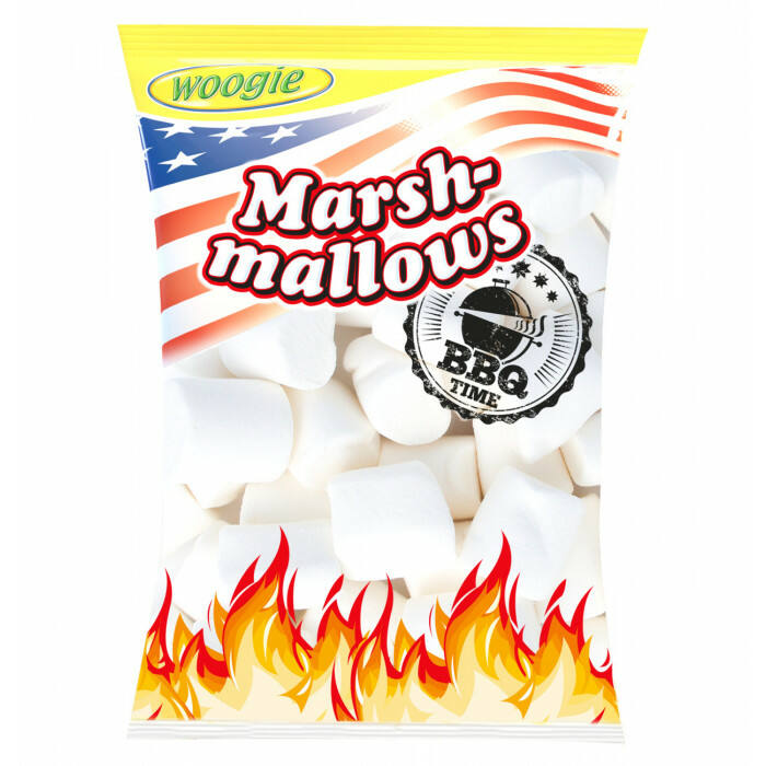 Woogie Marsh  Mallows Barbecue 300g