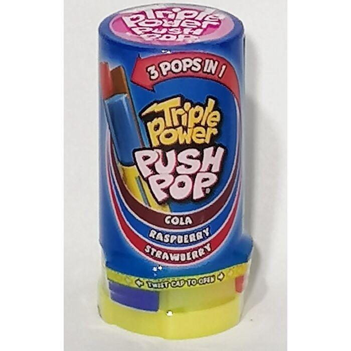 Tripple Power Push Pop (Szeder, Cola, Eper íz) 34g