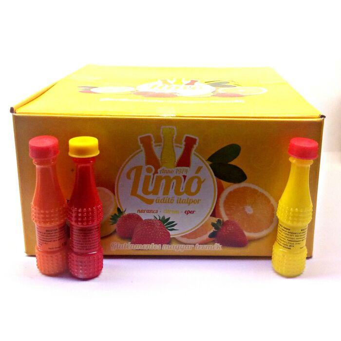 Limó  Eper, Narancs és Citrom Ízű Üdítő Italpor (90x13g) 1170g