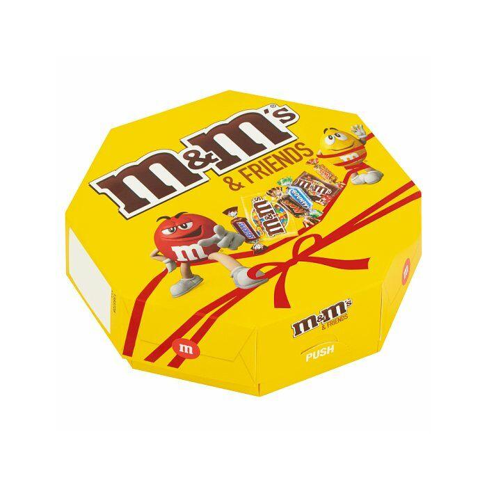 M&M's Friends Vegyes Tejcsokoládé Édesség Válogatás 179g
