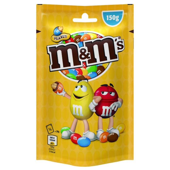 M&M's földimogyorós drazsé 150 g