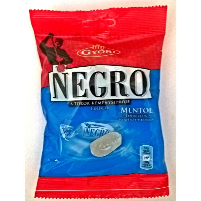 Negro Mentol Töltetlen Keménycukorka 159g
