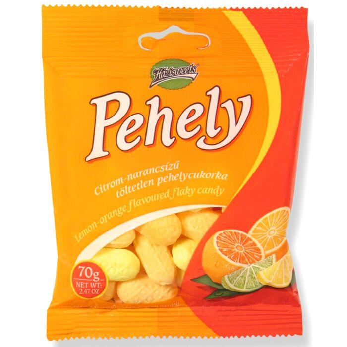 Pehelycukor Citrom Narancs ízű 70g