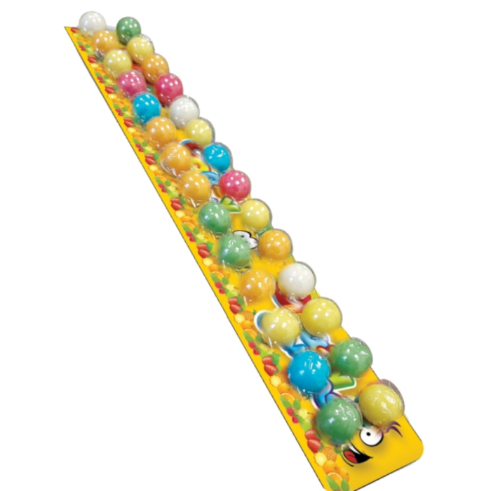 Crazzy Gummy 28 szemes Vegyes Gyümölcs Ízű Rágógumi 76.5g
