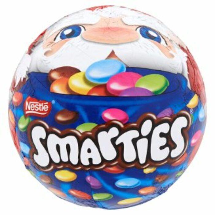 Smarties tejcsokoládé gömb tejcsokoládé cukordrazséval 200 g
