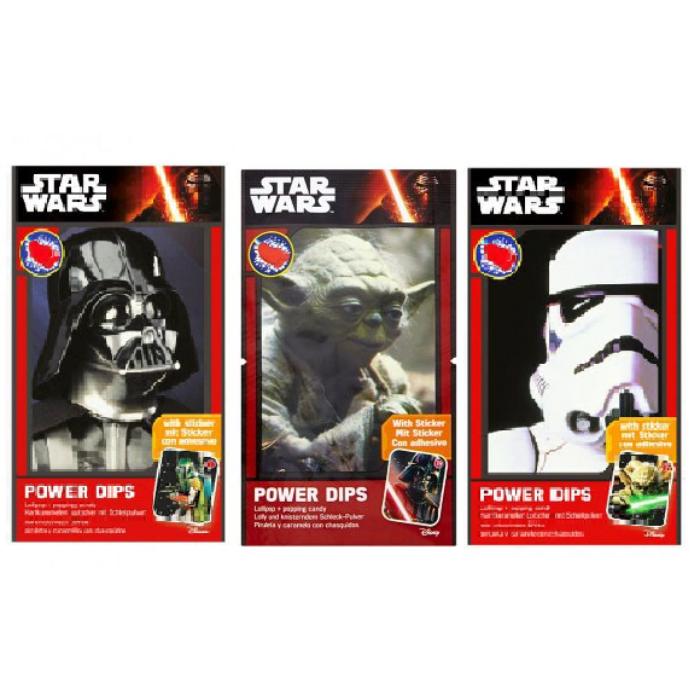 Star Wars Power Dips Nyalóka Pattogós Cukorkával 12g(1db)