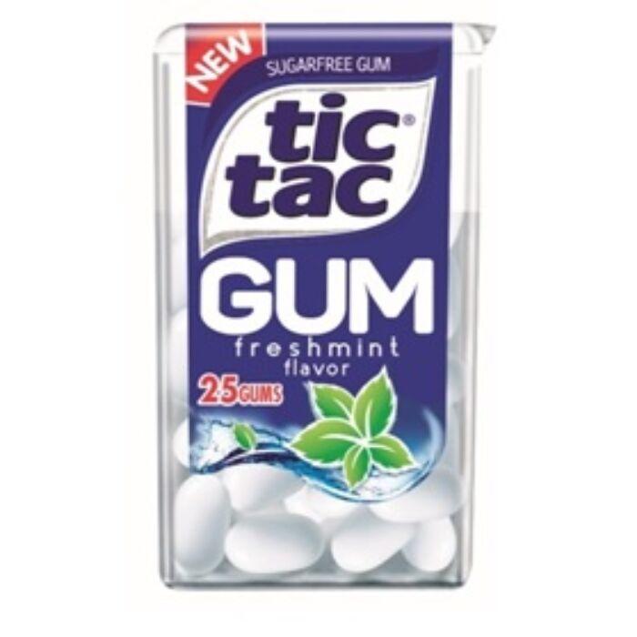 TicTac Mentolos Ízű Rágógumi Édesítőszerekkel 12.1 g