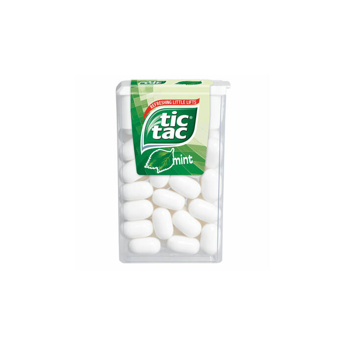 TicTac Mint Mentolos Ízű Cukordrazsé 18 g