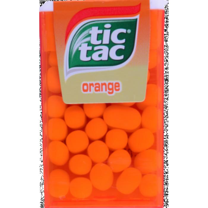 TicTac Narancs Ízű Cukordrazsé 18 g