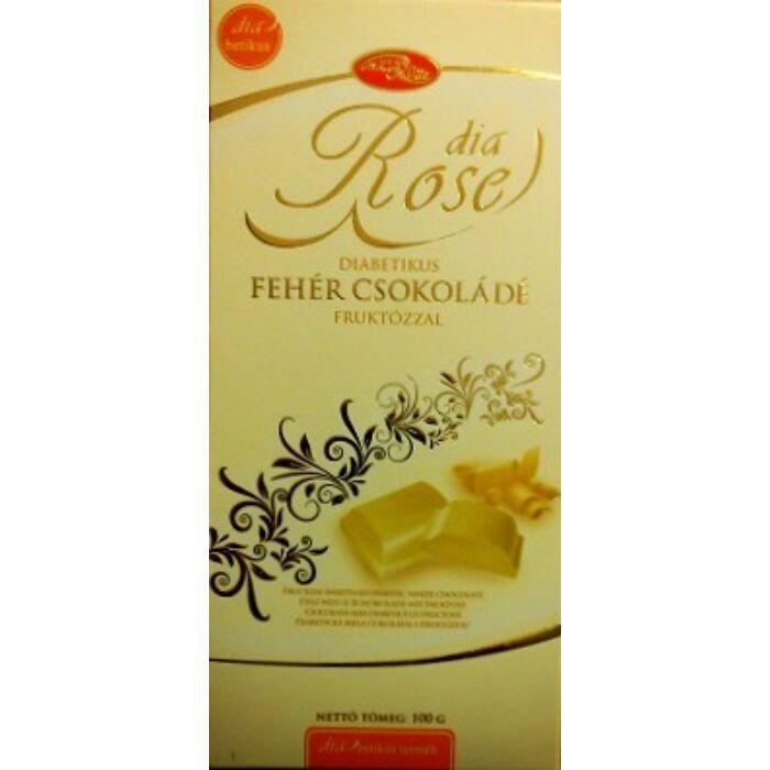 Dia Rose Diabetikus fehércsoki Fruktózzal 100g