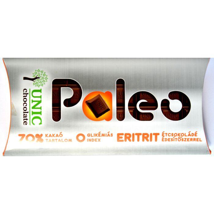 Paleo étcsokoládé eritrit édesítőszerrel 80g