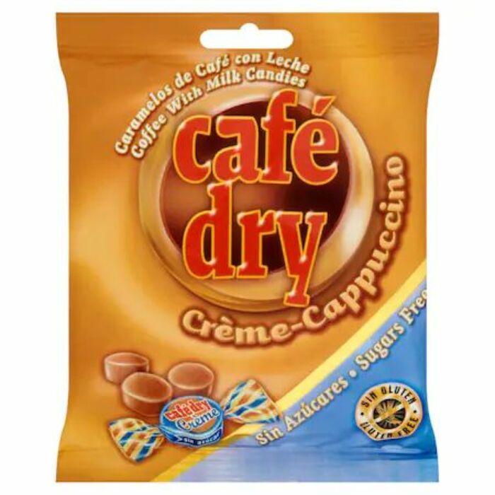 Café Dry Tejszínes Kávés Cukormentes Cukorka Édesítőszerrel 65g