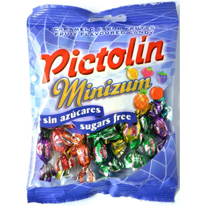 Pictolin  gyümölcs ízesítésű cukormentes cukorka 65g