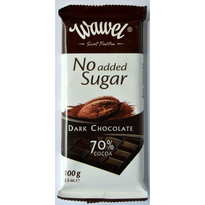 Wawel Diabetikus étcsokoládé édesítőszerrel 100g