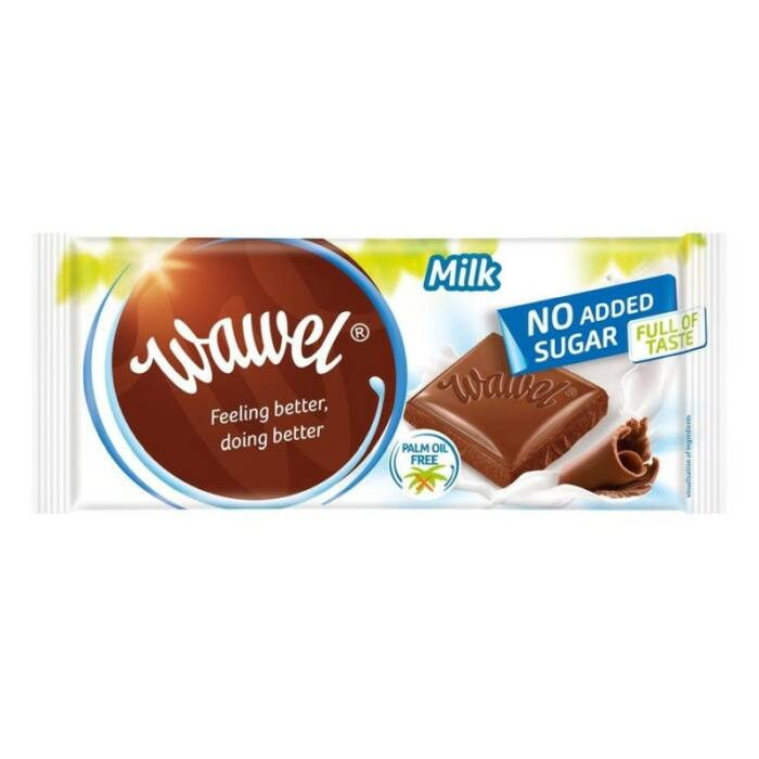 Wawel Diabetikus  Tejcsokoládé Édesítőszerrel 100g