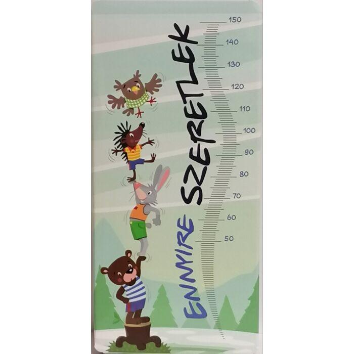Chocolips Ennyire Szeretlek, Gluténmentes Táblás Tejcsokoládé 90g