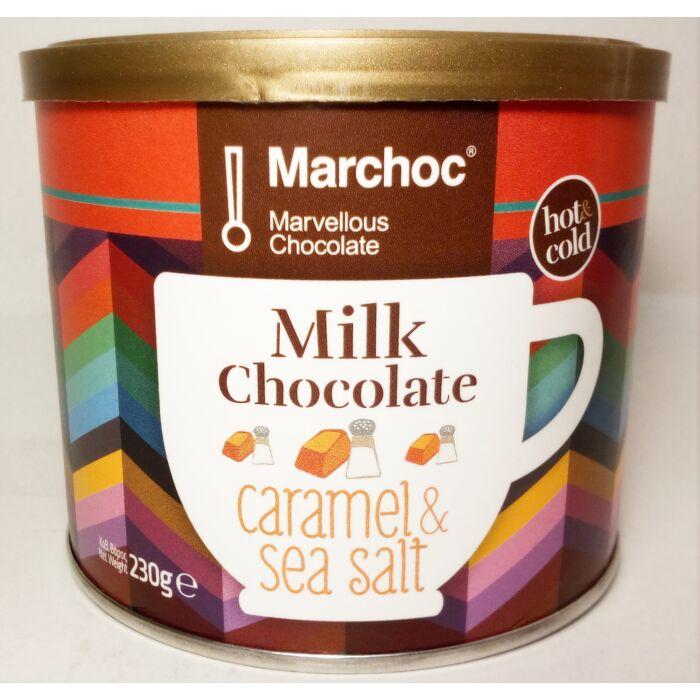 Marchoc Karamellás és Tengeri Sós Csokoládé Ízű Italpor 230g