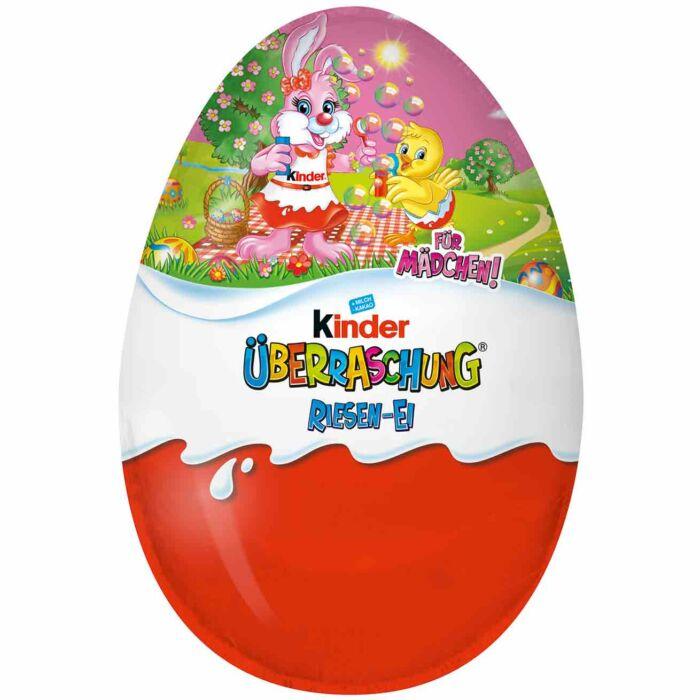 Kinder Húsvéti Óriás Meglepetés Tojás Lány 220g