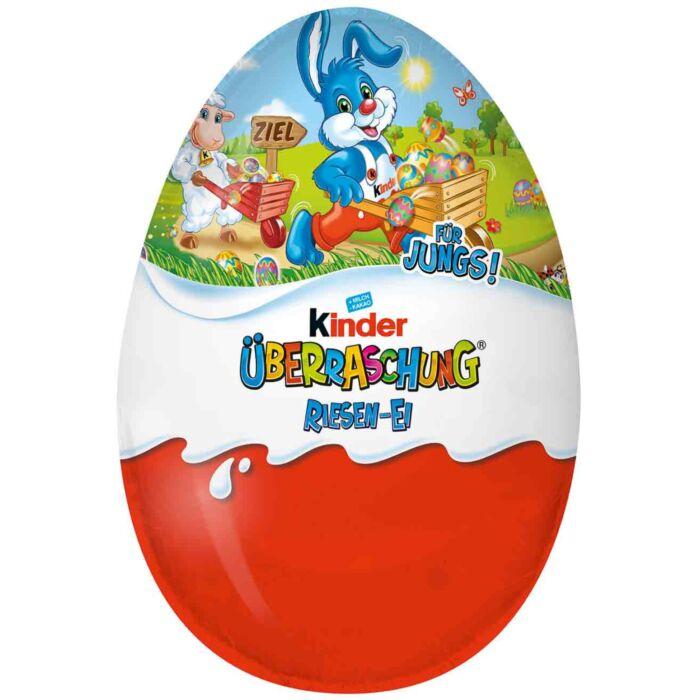 Kinder Húsvéti Óriás Meglepetés Tojás 220g