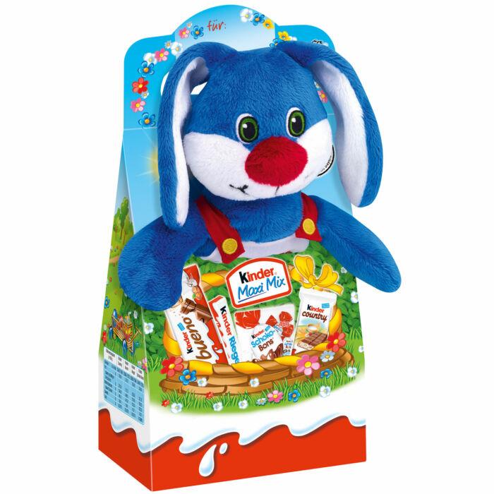 Kinder Maxi Mix Ajándékcsomag Húsvéti Plüssfigurával 133g