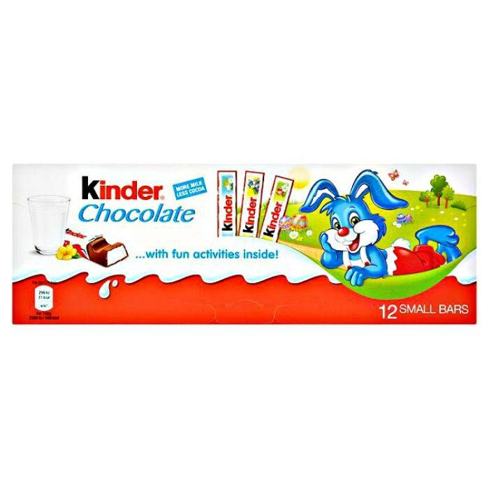 Kinder Húsvéti Csokoládé 12x12,5g 150g