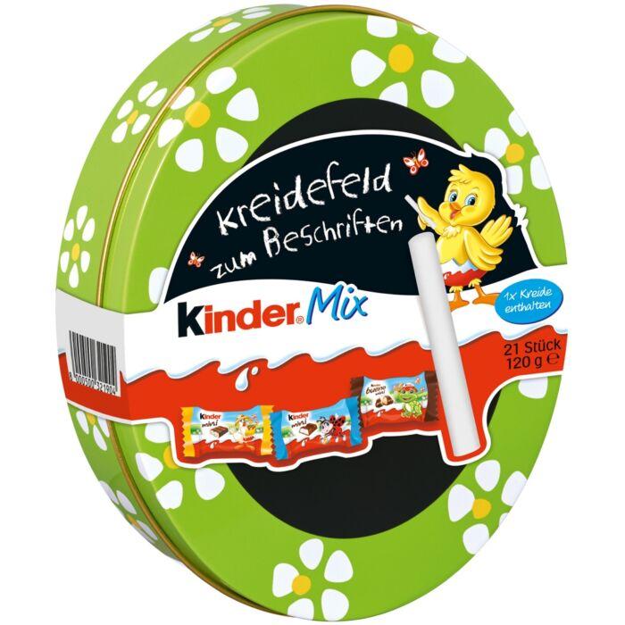 Kinder Mix Rajzolható Fémdobozban - Zöld 120g
