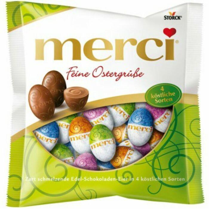 Merci Töltött és Töltetlen Csokoládé Tojások Mix 120 g