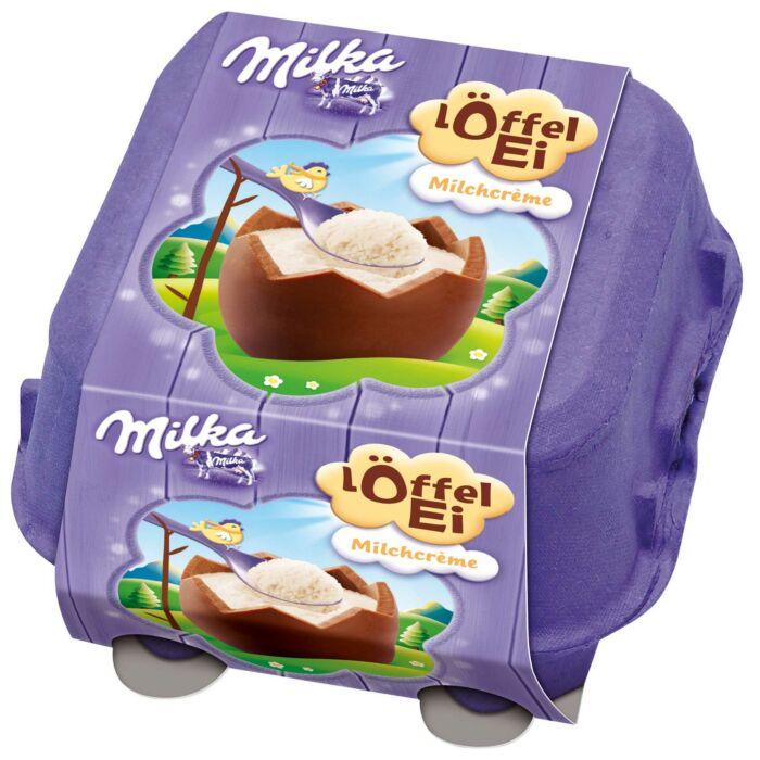 Milka Tojások Tejkrémmel töltve Tojástartóban 4x34g 136g