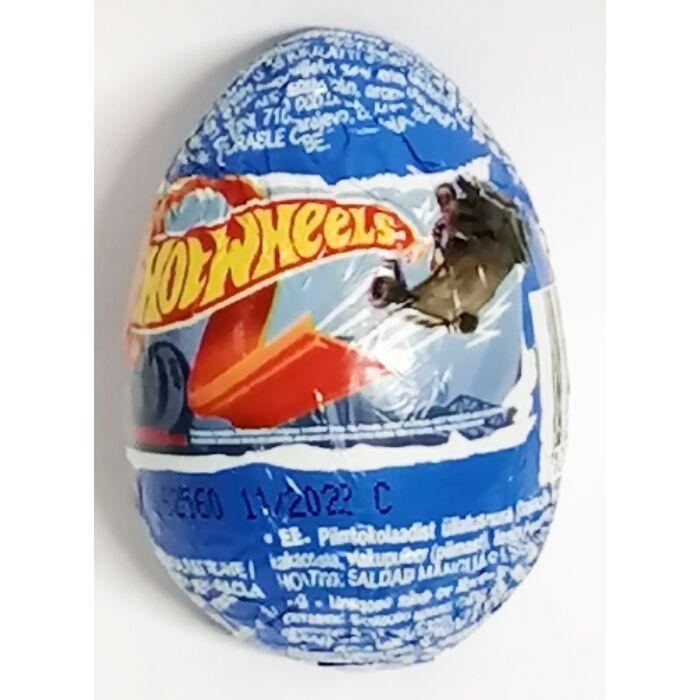 Zaini Csoki Meglepetés tojás Hot Wheels 20g