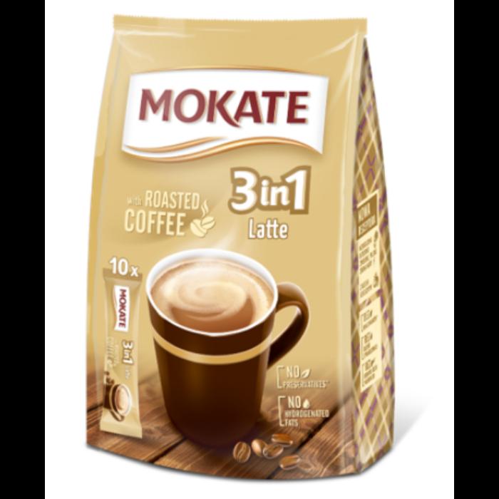 Mokate 3in1 Latte Azonnal Oldódó Kávéspecialitás (10x15g)