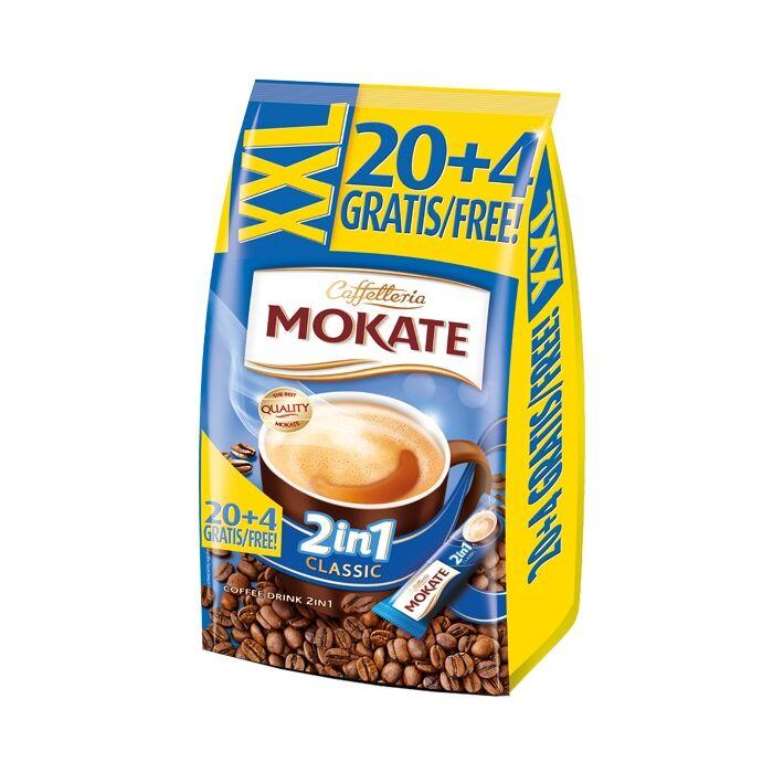 Mokate XXL 2in1 Azonnal Oldódó Kávéspecialitás (24x14g)