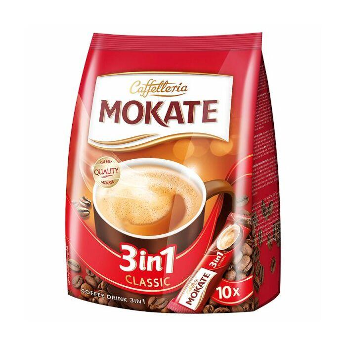 Mokate 3in1 Azonnal Oldódó Kávéspecialitás (10x17g)