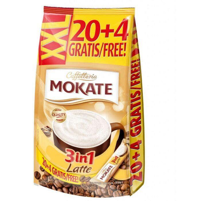 Mokate XXL 3in1 Latte Azonnal Oldódó Kávéspecialitás (24x15g)