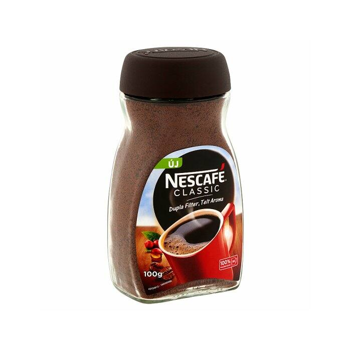Nescafé Classic Instant Azonnal Oldódó Kávé 100g